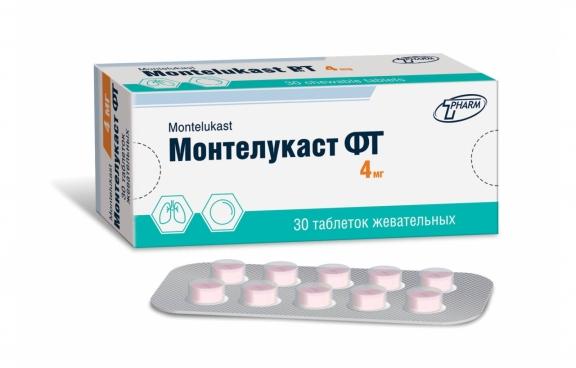 Монтелукаст ФТ